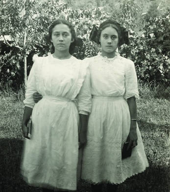 opal whiteley and her sister