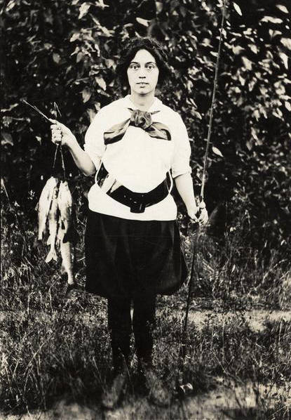 opal whiteley with fish