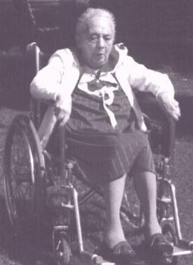 opal whiteley aged senior later years mental hospital