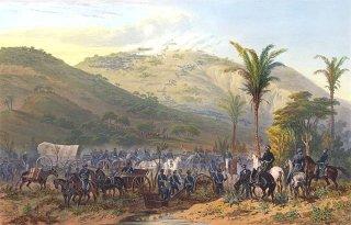 cerro gordo mountains painting