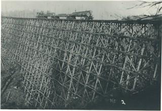 coast range oregon trestles railroad