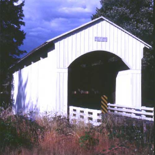 covered bridge cottage grove
