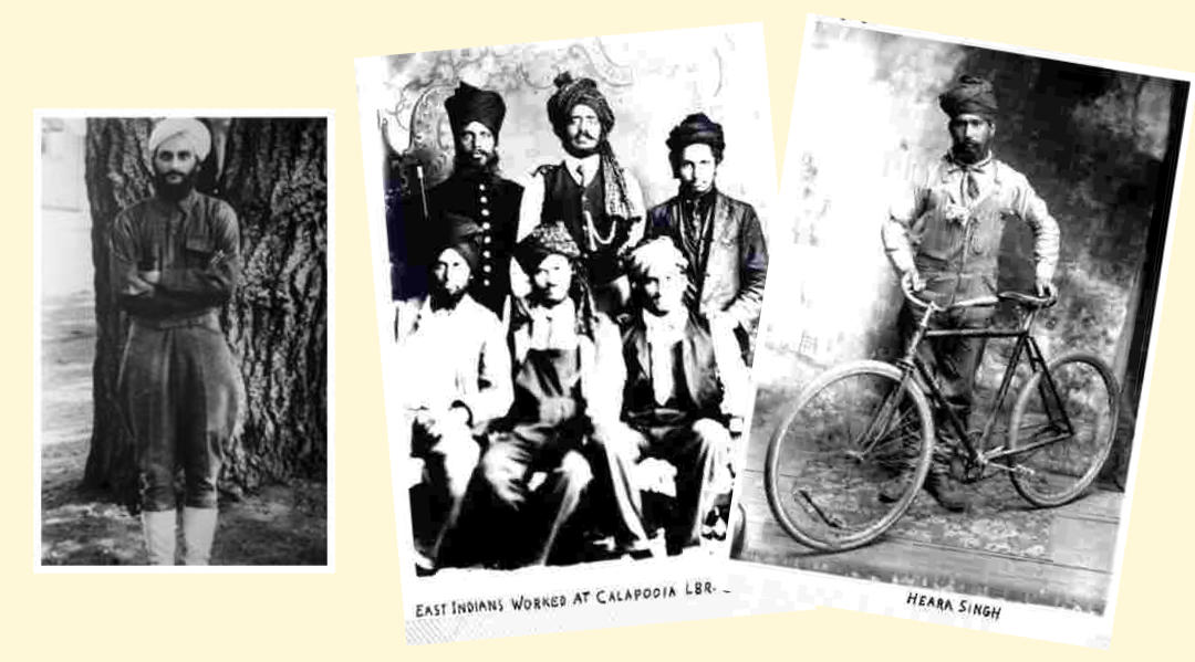 Sikhs and Hindus from India at Lumber Camps